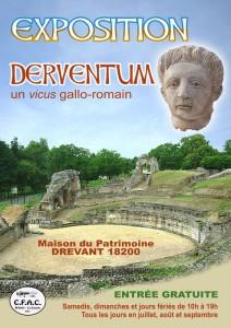 Affiche « Derventum vicus gallo-romain » 2011