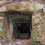 Entrée de l'aqueduc de la Tranchasse