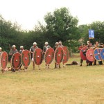 Troupes guerrières prêtes au combat (Embonne et Ordalies)