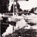Pont levis en acier Drevant