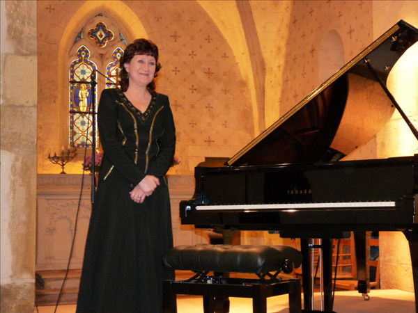 La concertiste Olga BUROVA