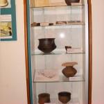 La vitrine des poteries