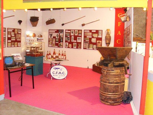 Stand C.A.P. à la Foire aux Vins St Amand 2011