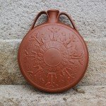 Gourde gallo romaine en sigillée