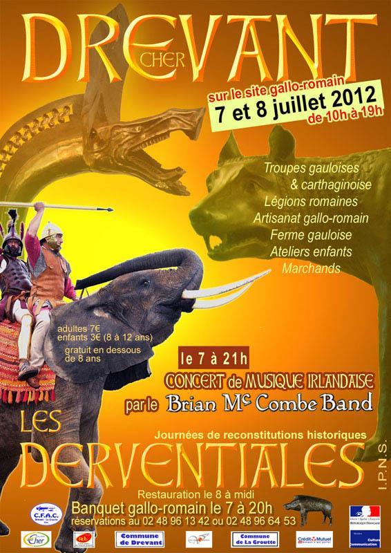 Affiche Derventiales 2012